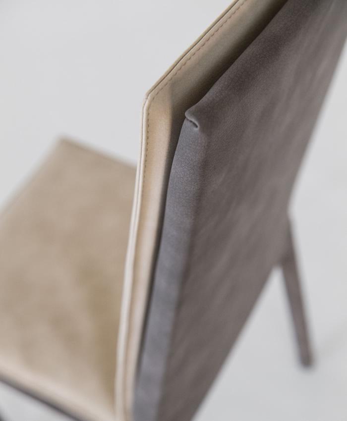 Sedia da soggiorno Sveva schienale alto Designed by RIFLESSI LAB