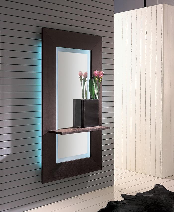 Specchio con mensola Sibilla Designed by Riflessi LAB