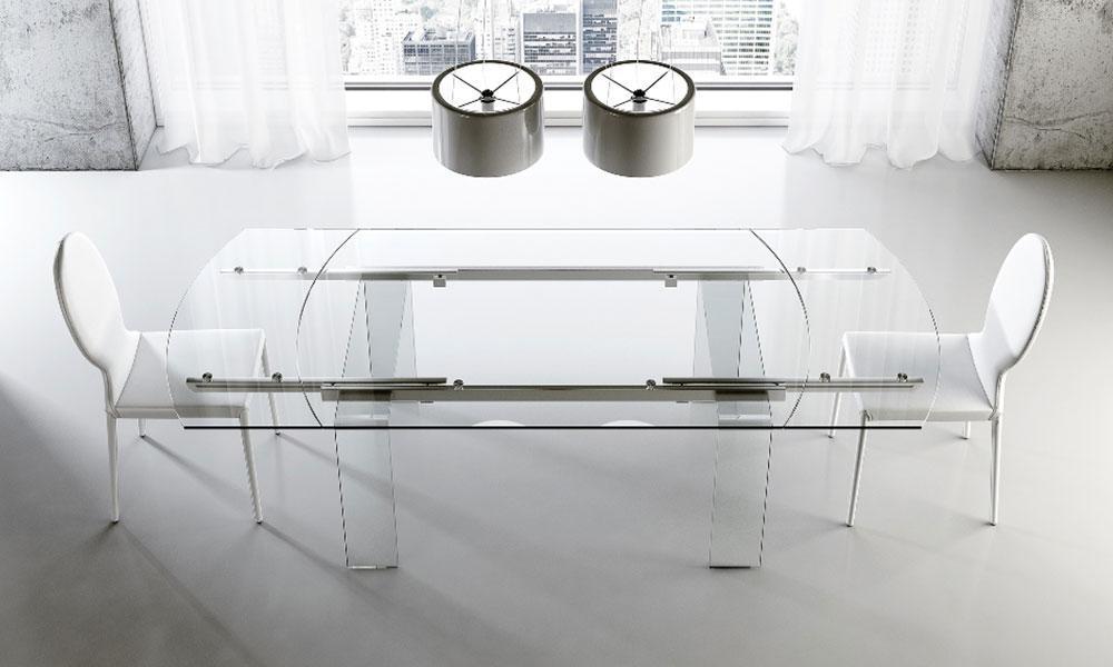 Tavoli allungabili, tavoli in legno e tavoli in vetro - Riflessi