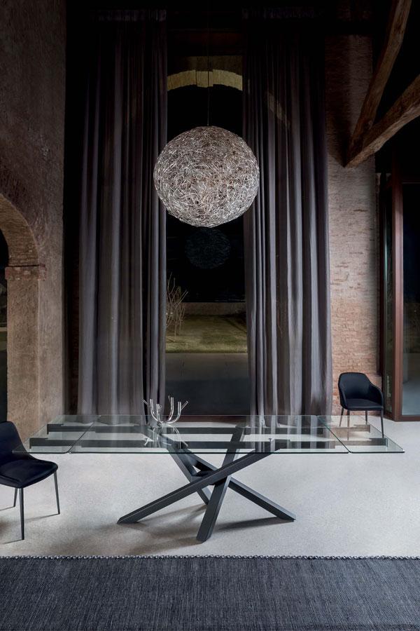 Piano Per Tavolo Vetro.Tavoli Allungabili Tavoli In Legno E Tavoli In Vetro Riflessi